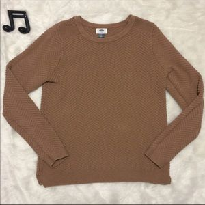 Old Navy Textured Crewneck Sweater